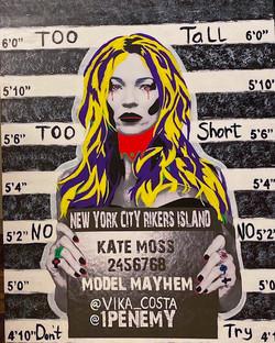 """Soho Model Line Up Kate Moss 1"""
