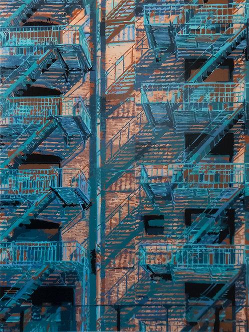 """Joseph Steininger -  """"Rear Window 1"""""""