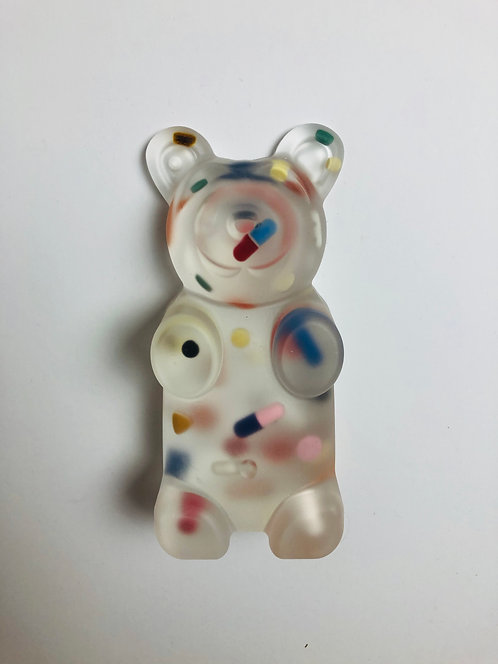"Sahara Novotna - ""Clear Pill resin gummy 2"""