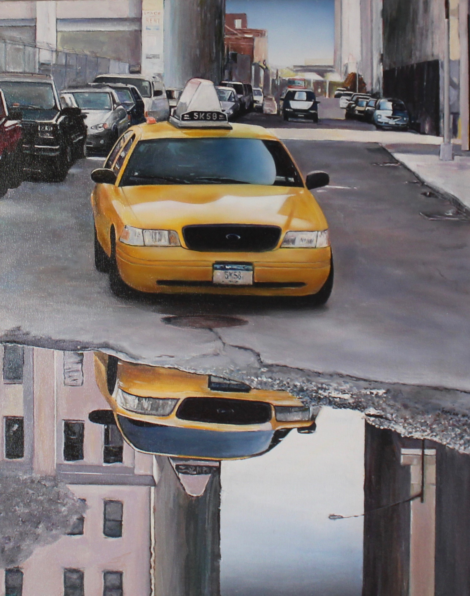"""Reflecting Taxi"""