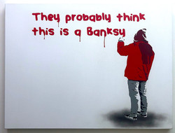"""They Probably Think This Is A Banksy"""