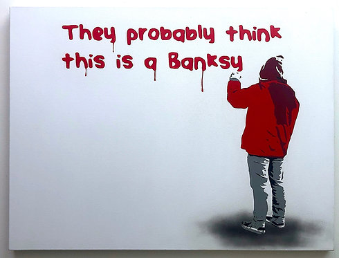 """Plastic Jesus - """"They Probably Think This Is A Banksy"""""""
