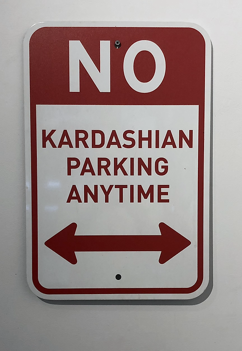 Plastic Jesus - No Kardashian Parking
