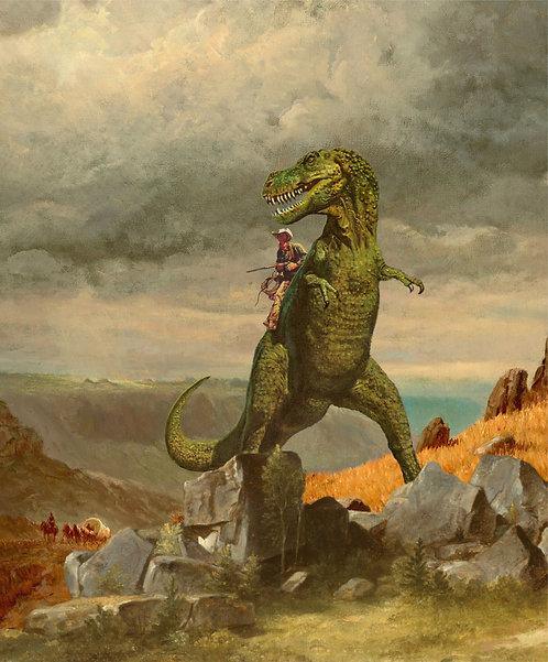 """Jason Brueck - """"T-Rexas Ranger"""""""