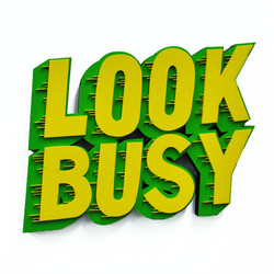 Look Busy
