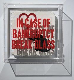 """Banksy Love Rat"""