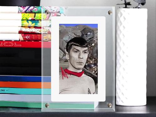 "Revolue - ""Spock"" -  digital video framed in infinite object"