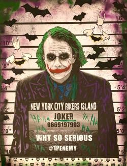 """""""Soho Model Line Up Joker"""""""