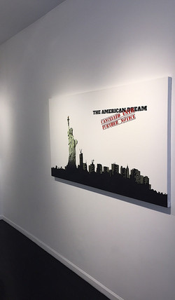 """American Dream"" in gallery"