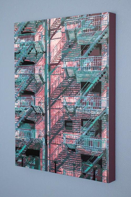 "Joseph Steininger -  ""Rear Window 2"""