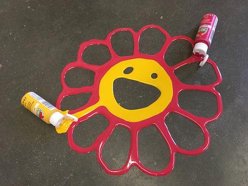 """Joe Suzuki - """"Happy Accident - Murakami Flower"""""""