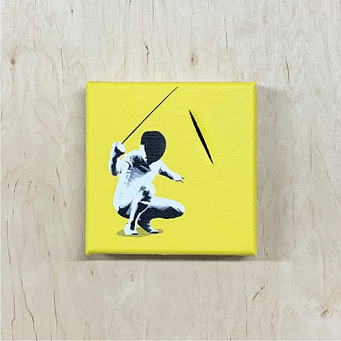 """Kunstrasen - """"After The Attack"""" (yellow)"""" mini"""