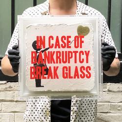 """Bankruptcy - Gold Balloon Girl"""