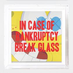 """""""In Case of Bankruptcy - Kaws Sponge Bob"""""""