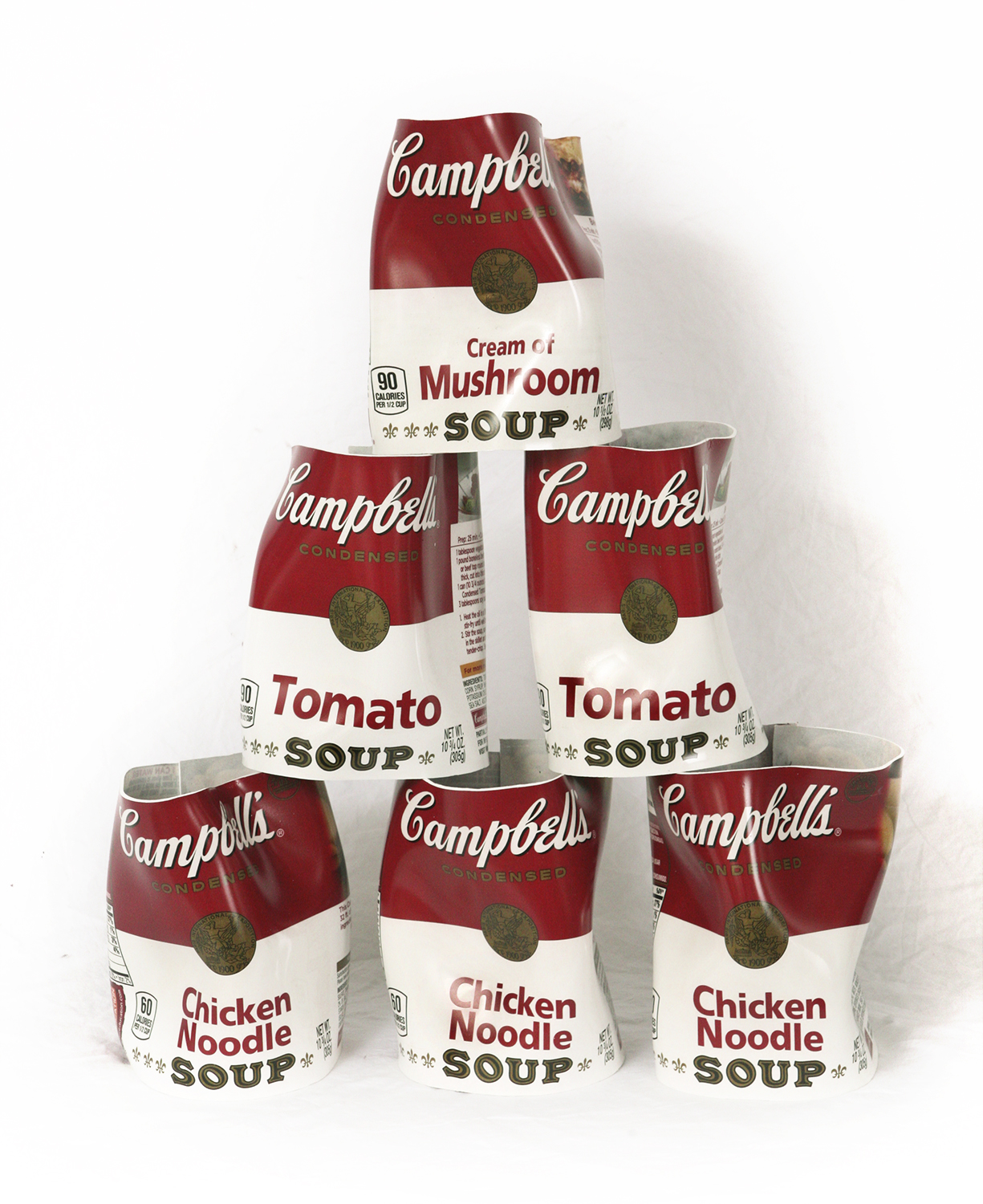 """Campbells Label Pyramid"""
