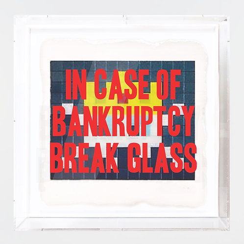 "Thirsty Bstrd - ""In Case of Bankruptcy - Invader LES"""