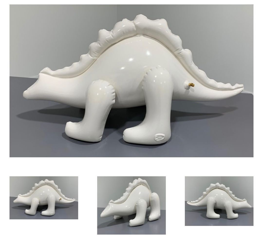 """Large Inflatable Stegosaurus"""