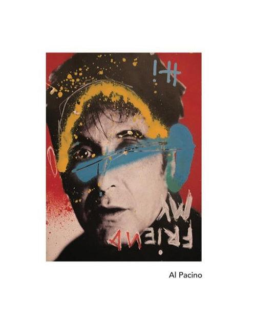 "Revolue - ""Scar Me"" - Physical framed Al Pacino & NFT"
