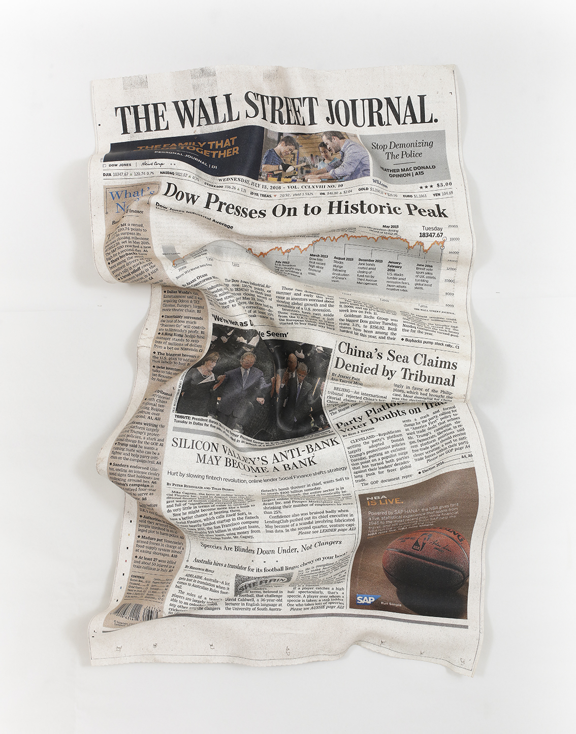 """Wall Street Journal"""
