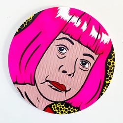 """""""Lichtenstein Style - Kusama"""""""