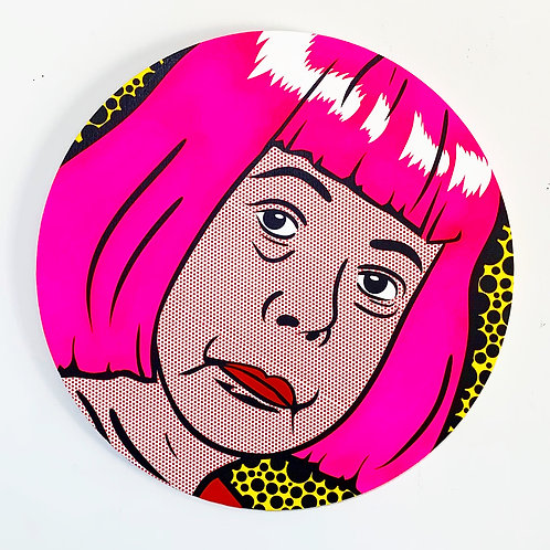 """Joe Suzuki - """"Lichtenstein Style - Kusama"""""""