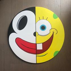 """Two Faced Oreo, Spongebob"""