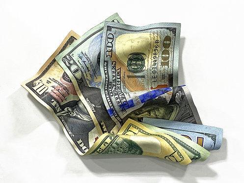 """Paul Rousso """"Walking Around Money"""""""
