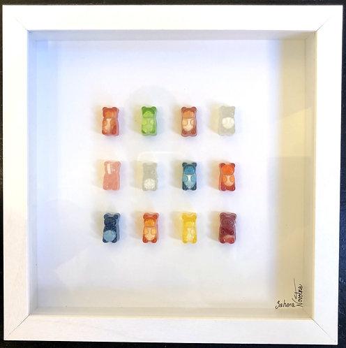 "Sahara Novotna ""Pill Gummy Bear #4"""