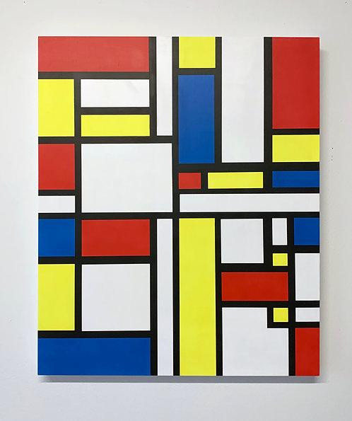 """Joe Suzuki - """"Mondrian style - FUCK"""""""