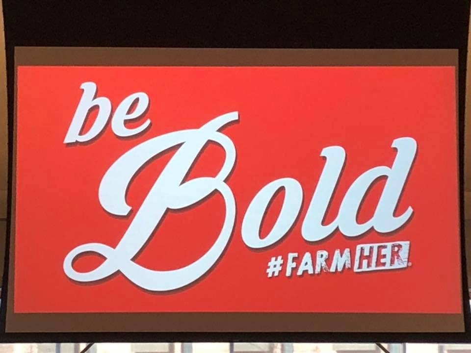 #FarmHer event Janelle attended as part of her professional developement training.