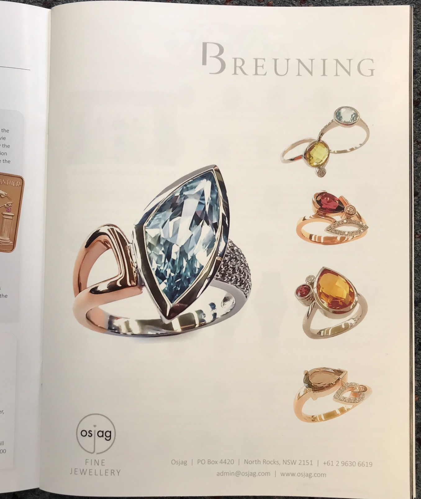 Jewellery World Ad
