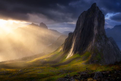 The Mountain, The Man, and the Light (we
