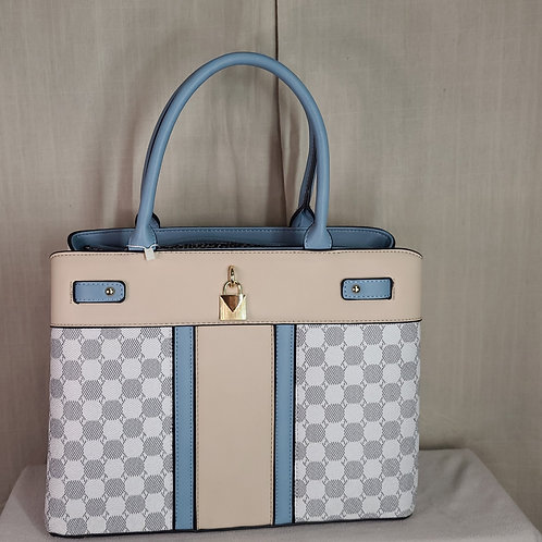 British Handbag Large Blue