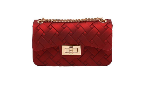 Sweet Candy Jelly Handbags Red