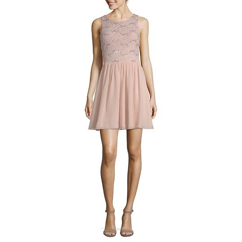 Speechless - Sleeveless Fit & Flare Dress