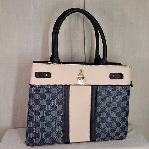 British Handbag Large Black