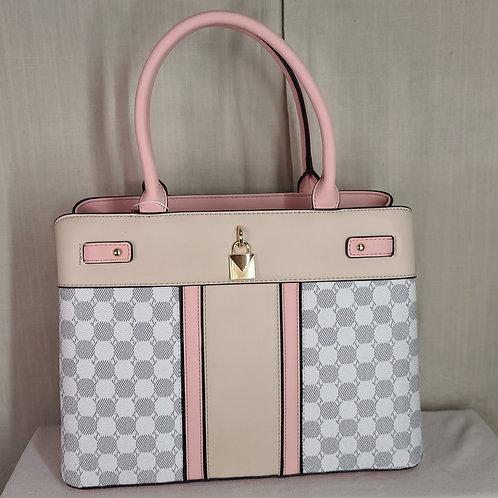 British Handbag Large Pink