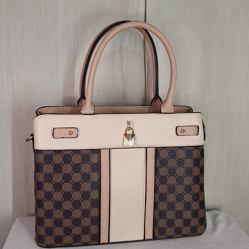 British Handbag Large Beige