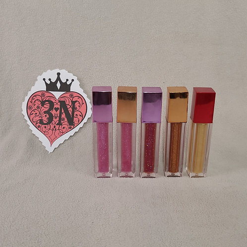 Complete Lip-Gloss Set Wand Tubes