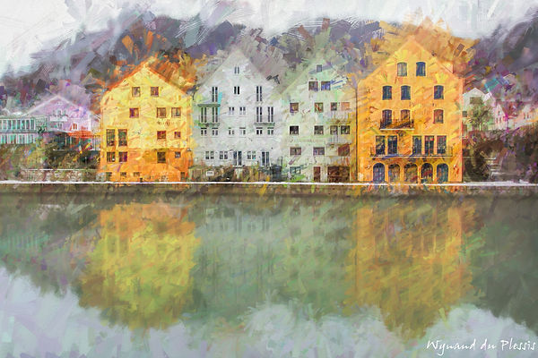 Luxury Fine Art Prints - WINTER REFLECTION