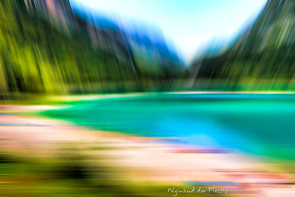 Luxury Fine Art Prints - ALPINE LAKE