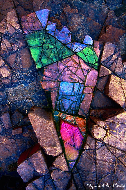 Luxury Fine Art Prints - ROCK GEMS