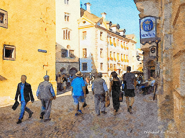 Digital watercolour paintings - fine art prints on the Art Print Media of your choice