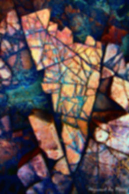 Luxury Fine Art Prints -ROCK GEMS-3