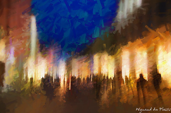 Luxury Fine Art Prints - NIGHT BEAT