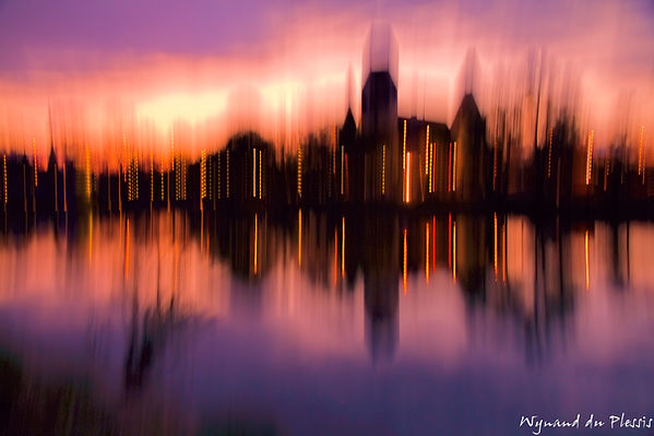 Luxury Fine Art Prints - SUNSET SKYLINE