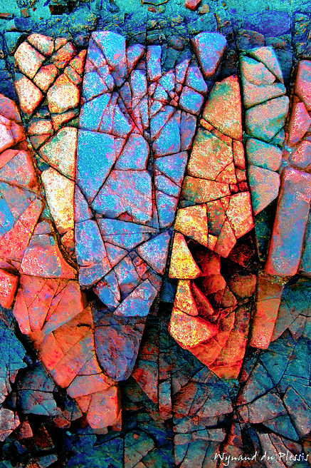 Luxury Fine Art Prints - ROCK PUZZLE-2
