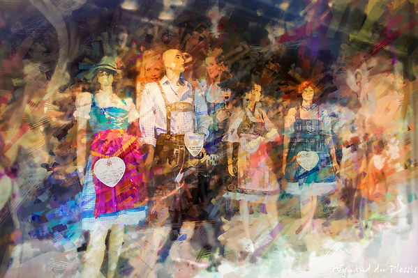 Luxury Fine Art Prints - DIRNDL & LEDERHOSEN