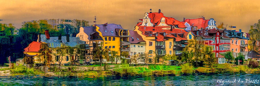 Luxury Fine Art Prints - RIVER ISLAND SETTLEMENT