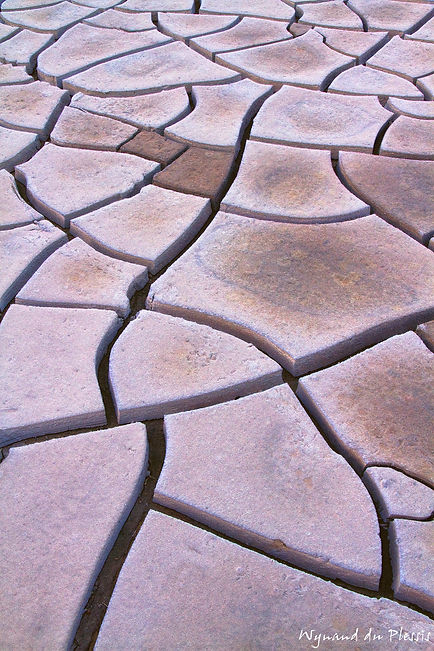 Luxury Fine Art Prints - CRACKED CLAY